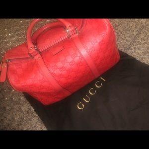 Gucci duffle
